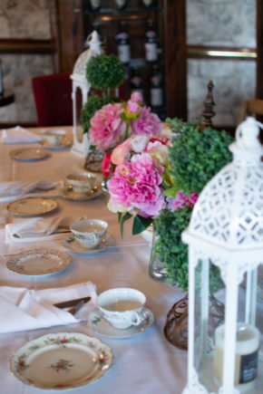 40th Birthday Party Afternoon Tea Celebration Table
