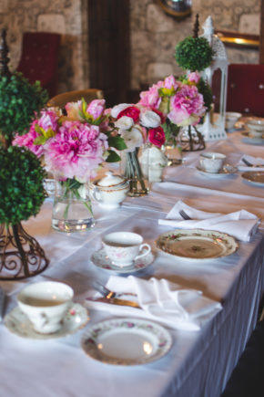 40th Birthday Party Afternoon Tea Celebration Table 2