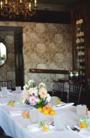 Brunch Bridal Shower Table