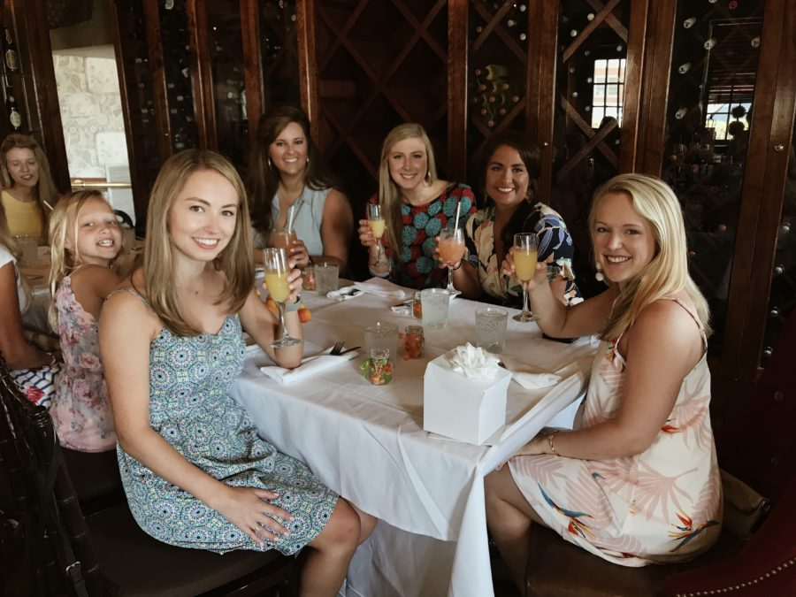 St. Augustine Brunch Bridal Party