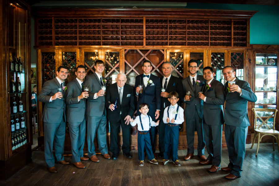 Groomsmen at The Chatsworth