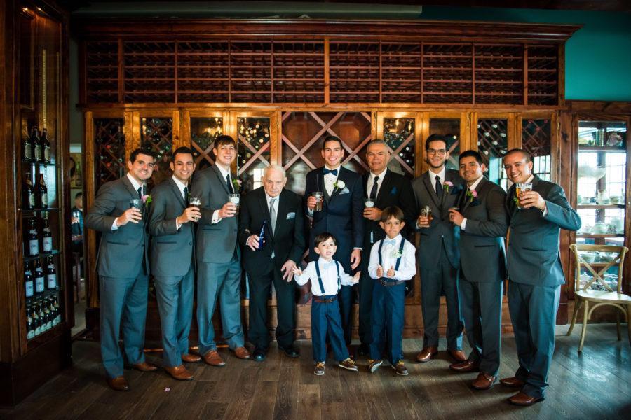 Groomsmen at The Chatsworth