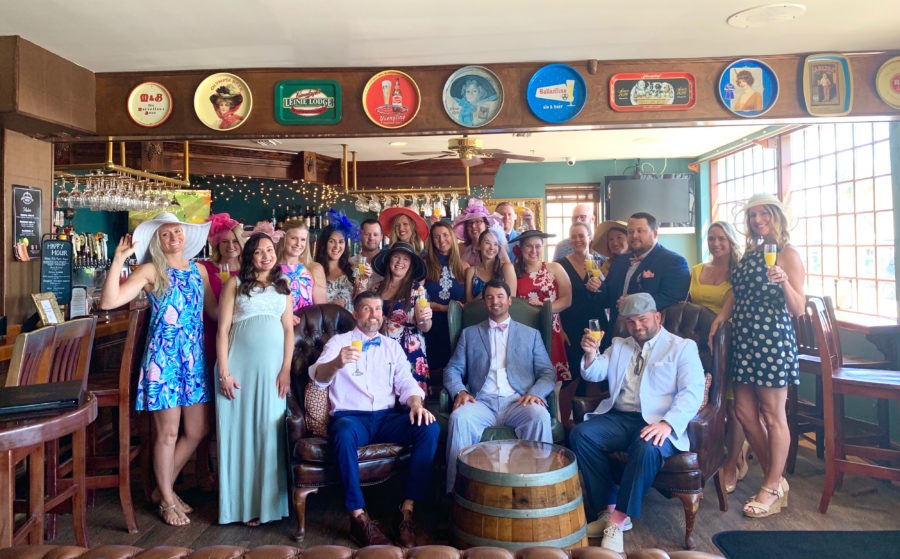 Kentucky Derby Party at The Chatsworth Tea Room in St. Augustine, Florida