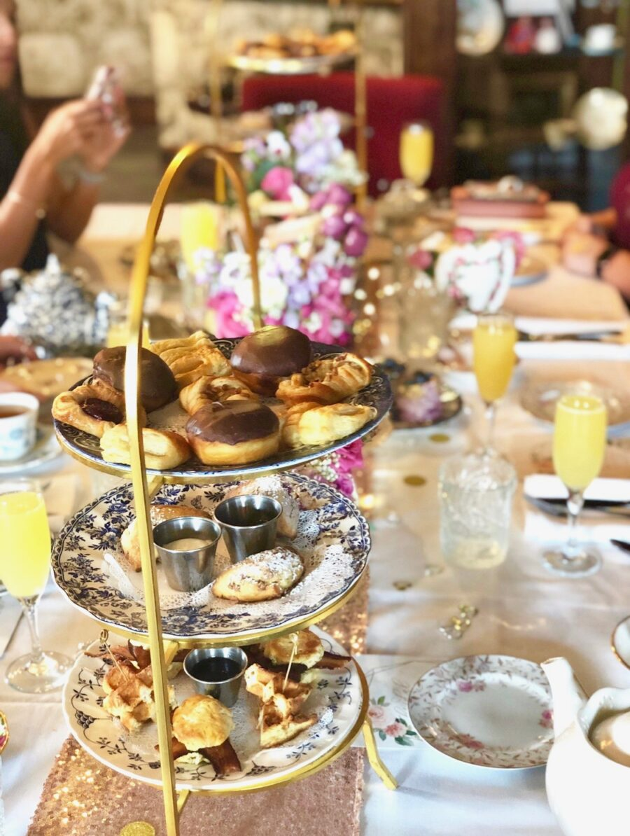 Brunch High Tea with Bottomless Mimosas at The Chatsworth Tea Room in St. Augustine Florida
